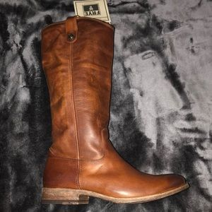 Frye Boots Melissa Button 1